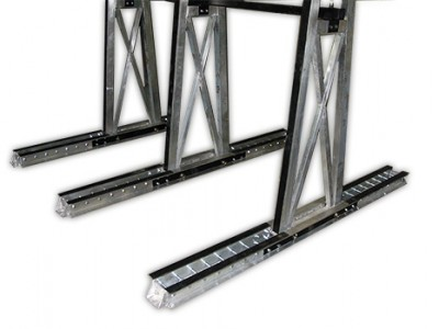 Cadre (frame) en A pour boite de camion