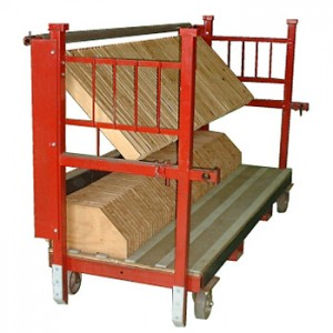 Support Rack, Wood Separator (60 spaces)