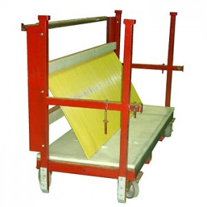 Support Rack, Rod Separator (100 spaces)