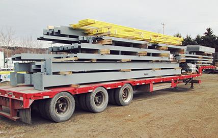 Structures d'acier, commercial/industriel