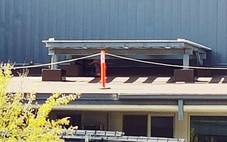 Support à toiture pour unité/compresseur de ventilation