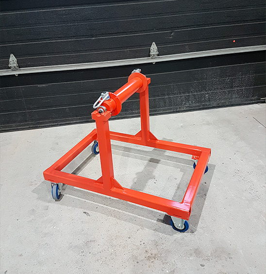 Chariot à bobine