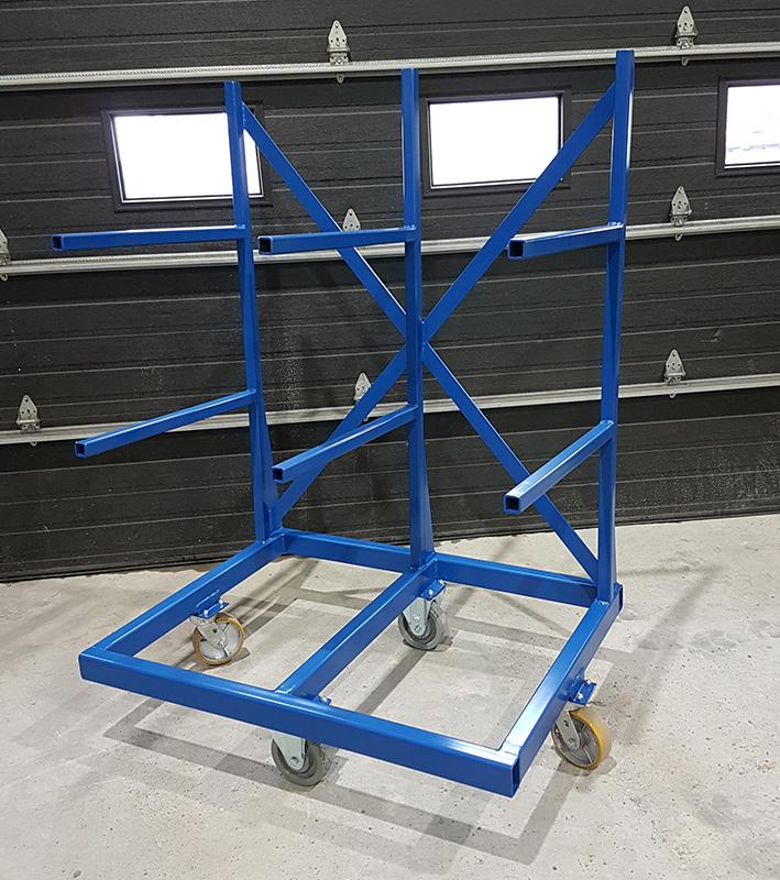 Chariot pour production